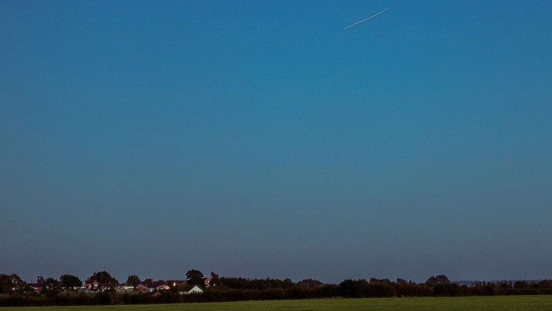 Lincolnshire's view of the SpaceX launch