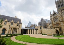 Lincoln Cathedral's new visitor centre construction works completed