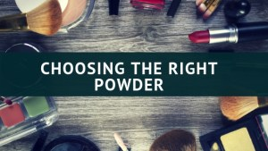 right powder