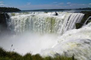 Garganta del Diablo in Iguazu Falls, Argentina.