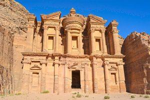 The Petra Monastery, Jordan.