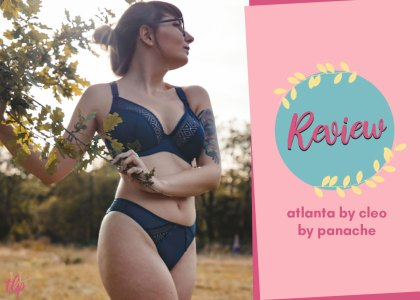 cleo by panache atlanta plunge bra review 28G