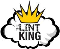 The King of Lint Logo for dryer duct cleaning
