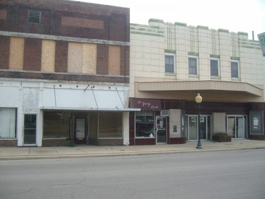 North Main - East Side of Street