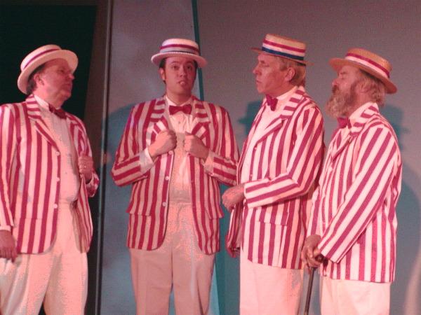 traditional barbershop quartet
