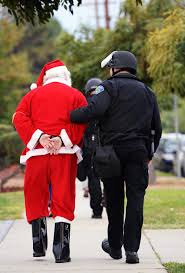 Santa Claus taken down in sting operation.