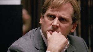 Forget Denmark, Steve Carell thinks something stinks on Wall Street.