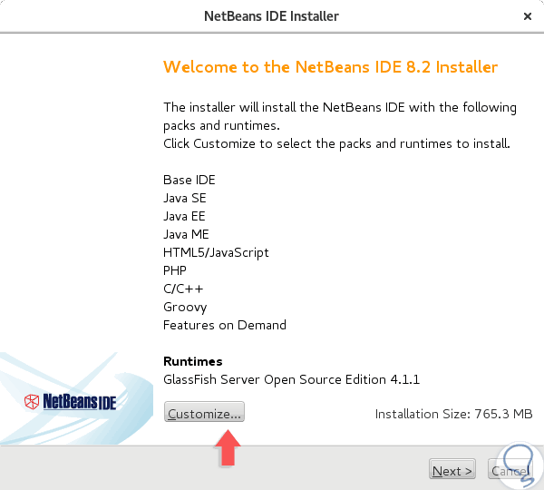How To install Netbeans IDE on CentOS/Ubuntu /MINT/Debian