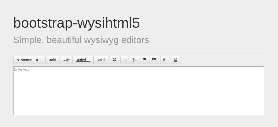 bootstrap-wysihtml5