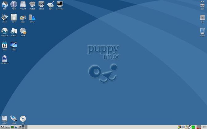 puppy linux portable linux distros