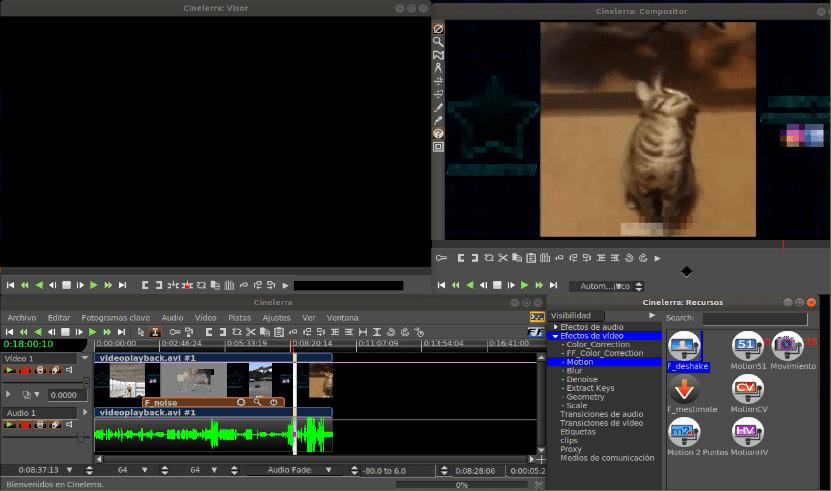 cinelerra free open source video editing software