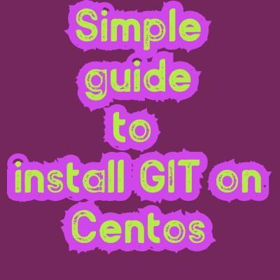 install git on Linux
