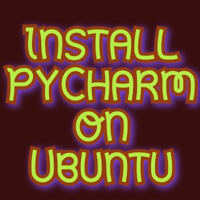 install pycharm on ubuntu