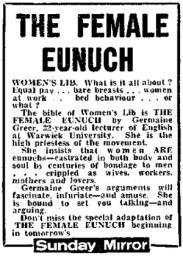 29 Female Eunuch 1971
