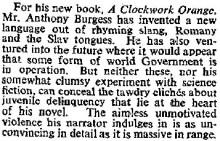 30 Clockwork Orange 1962