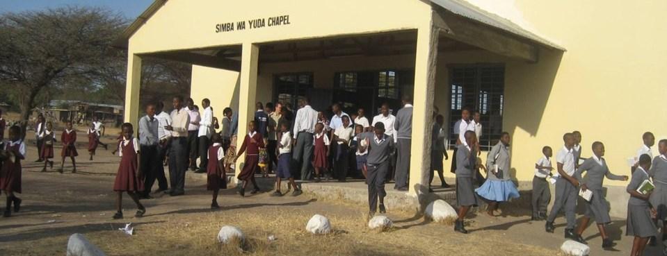 The Lion of Judah Academy - Leaving Chapel
