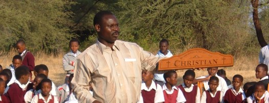 Lion of Judah Academy - Mtebe with Christian Plaque