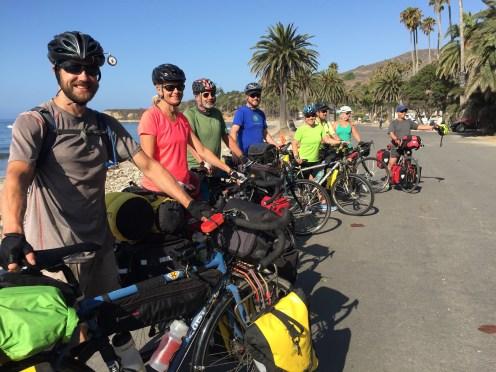 Bikepacking at Refugio State Beach
