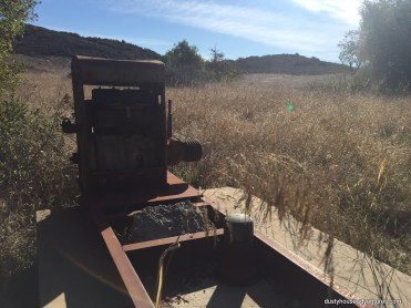 Antique ranching machinery at Nicholas Flat