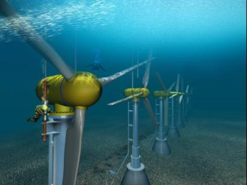 ocean-current-turbines