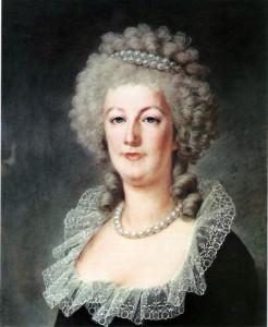 Alexander Kucharski's portrait of Marie Antoinette from around 1790