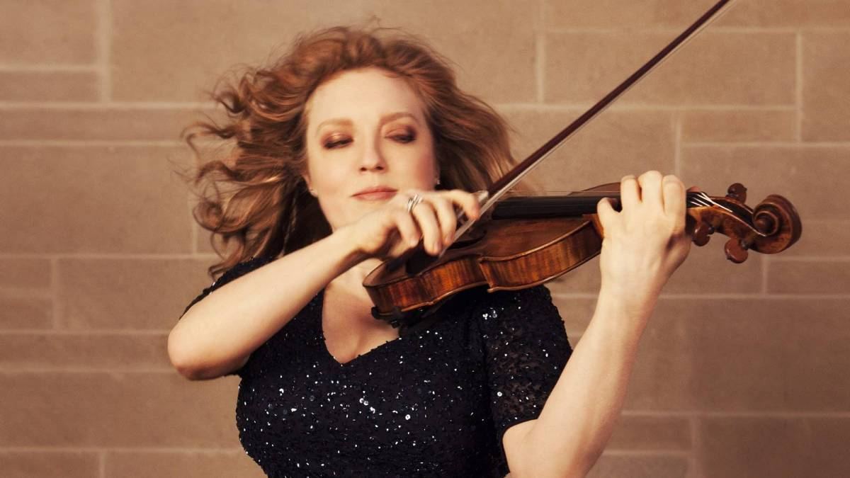 New Release: Rachel Barton Pine Plays Elgar and Bruch