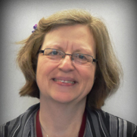 Sue Damon portrait, Program Coordinator – Kitchener at The Literacy Group