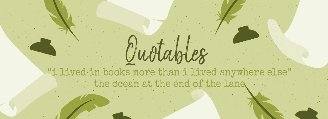 """I Lived in Books More Than I Lived Anywhere Else."" – #ThursdayQuotables"