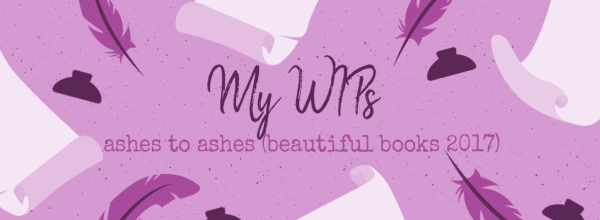 Beautiful Books 2017:  Ashes to Ashes