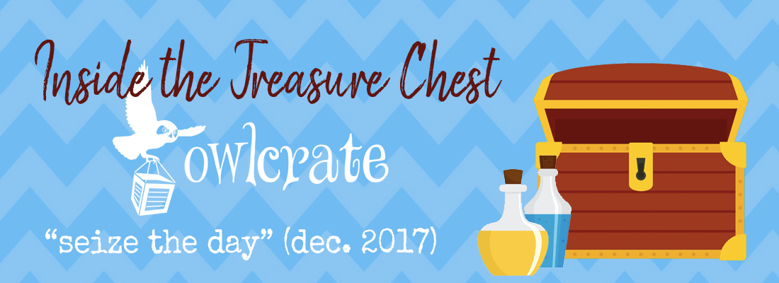 """December OwlCrate Unboxing // """"Seize the Day"""""""