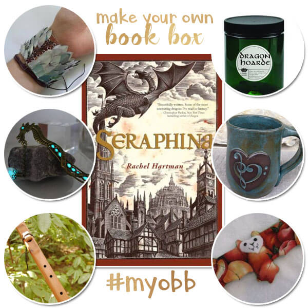 Make Your Own Book Box Seraphina Collage