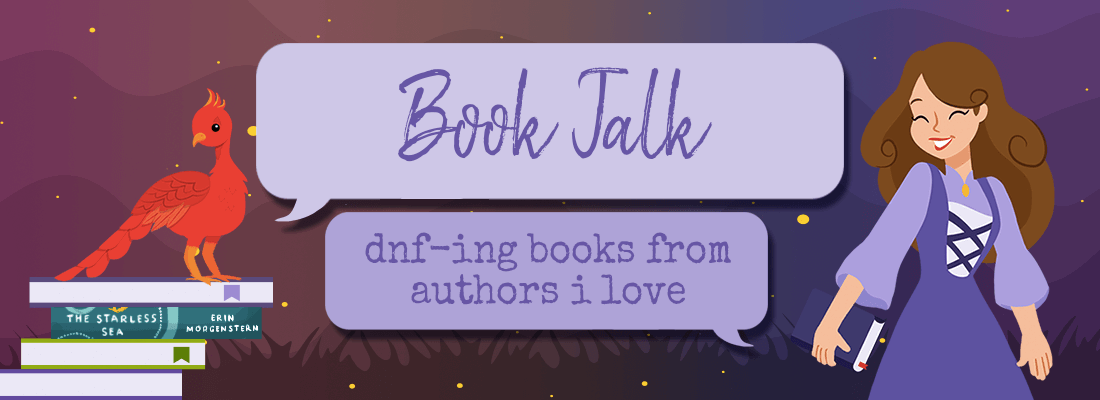 Confession:  I Have DNF'd Books from Authors I Love to Reread