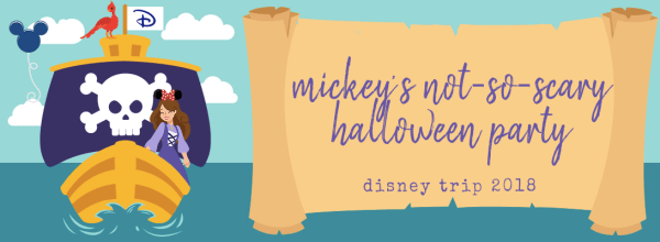 Mickey's Not-So-Scary Halloween Party (Disney Pt. 3)