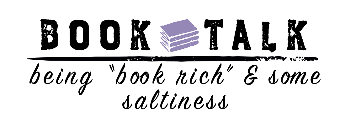 "Being ""Book Rich"" and Some Saltiness"