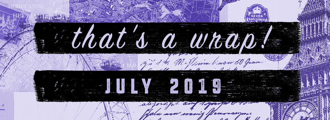In Which It's Too Hot, I Do Two Readathons, & I Bombard You With Reviews:  The July Wrap Up!