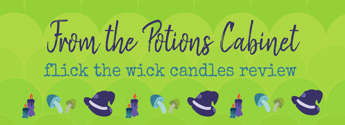Bookish Candle Review: Flick the Wick