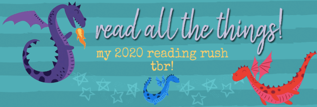 My Very Ill-Advised But I'm-Doing-The-Readathon-Anyway READING RUSH 2020 TBR!