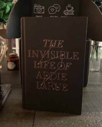 Owlcrate The Invisible Life of Addie LaRue Front Cover
