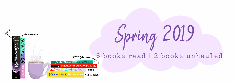 Great Bookcase Crusade Spring 2019 Reads