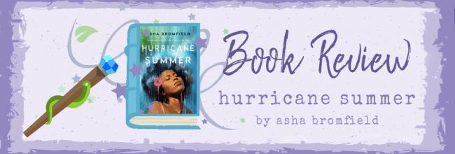 Hurricane Summer by Asha Bromfield