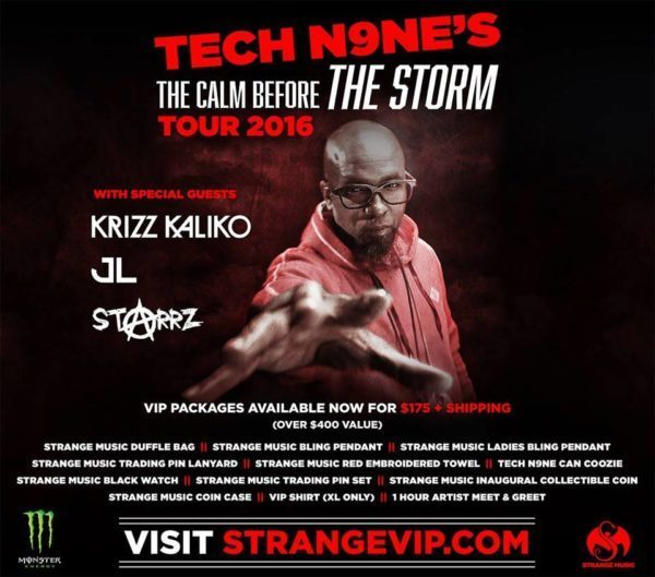 Tech n9ne the calm before the storm tour 2016 at myth live event tech n9ne the calm before the storm tour 2016 at myth live event center st paul aloadofball Gallery
