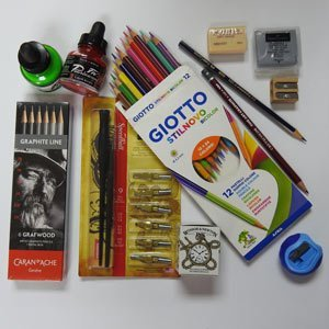 Drawing-Materials-Inks
