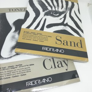 Fabriano toned paper pads