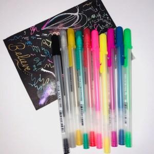 Gelly Roll gel pens