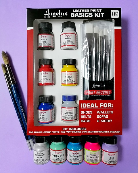Angelus Leather Paints and Products
