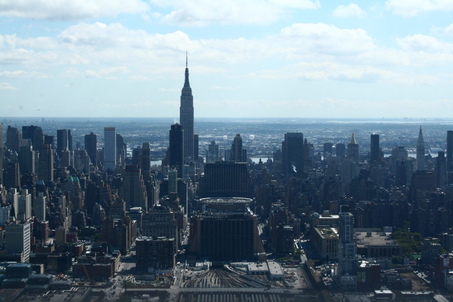Manhattan helicopter ride
