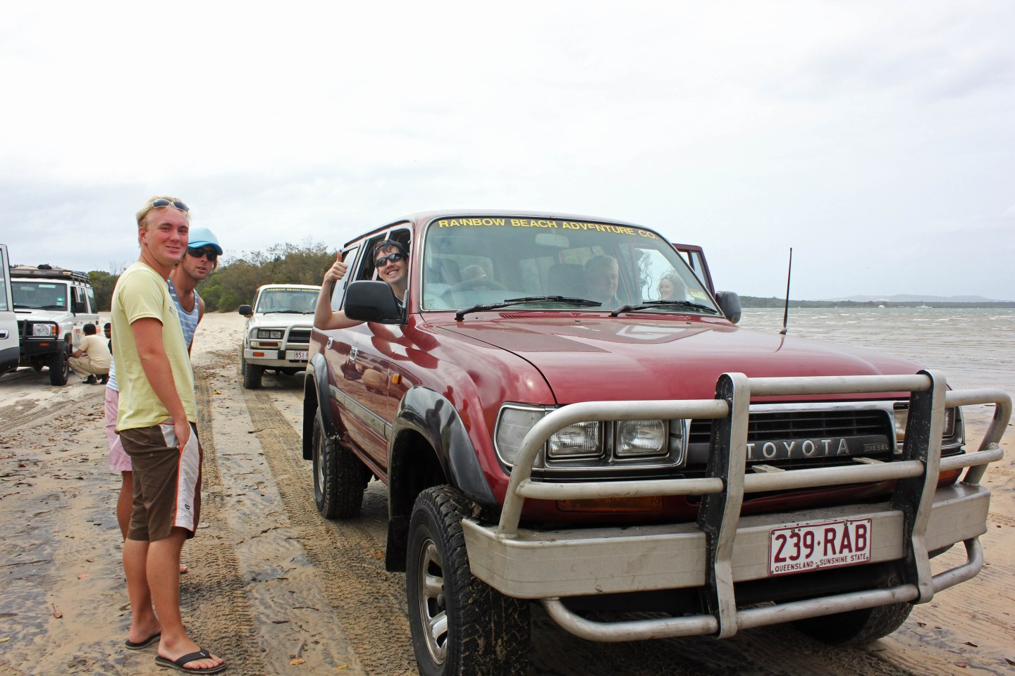 Fraser Island Tag Along Tour Style
