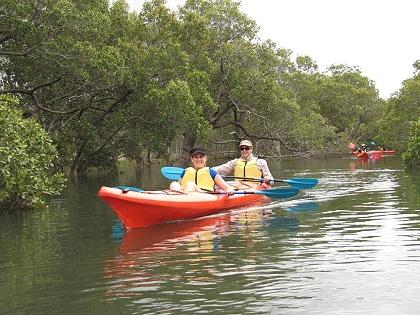 Sea Kayaking in Port Macquarie