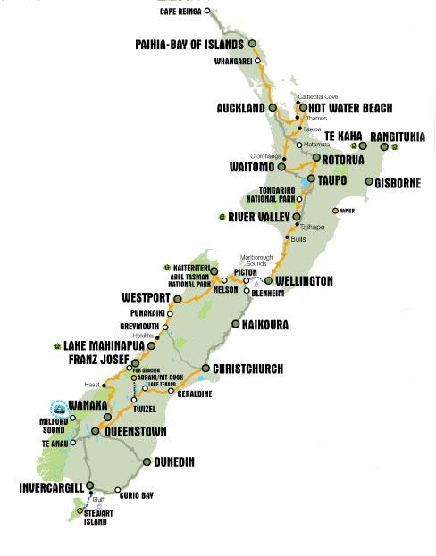 New Zealand – Plan and Wishlist