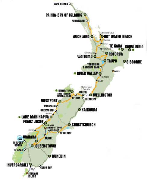 New Zealand – Plan and Wishlist